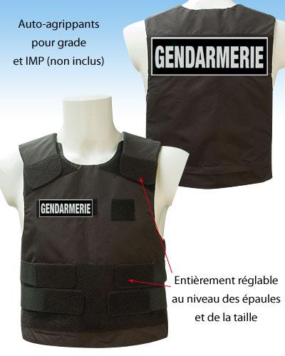 Gendarmerie for Housse gilet pare balle gendarmerie