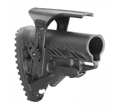 Crosse Tactique Noire Pour M16 Ar15 Avec Compartiment A Piles Avec
