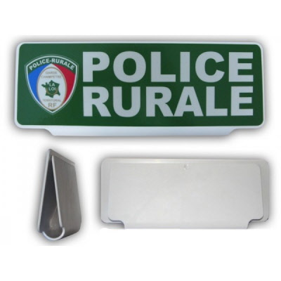 plaque plexi clipsable pare soleil police rurale ppolicer. Black Bedroom Furniture Sets. Home Design Ideas